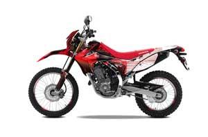 Honda CRF250 L Enduro Dirt Bike Graphic Kit - 2013-2016 Carbon X Red