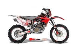 Honda CRF450 X Dirt Bike Graphic Kit - 2005-2016 Carbon X Red