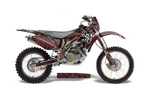 Yamaha YZ250F / YZ450F Dirt Bike Graphic Kit - 2006-2009 Aussie Widow Maker