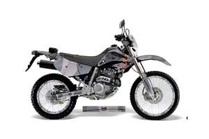 Honda XR250 SM Dirt Bike Graphic Kit - 2003-2005 T Bomber Black