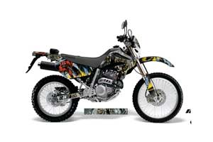 Honda XR250 SM Dirt Bike Graphic Kit - 2003-2005 Number of the Beast