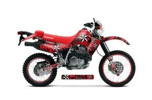 Honda XR650L Dirt Bike Graphic Kit - 1993-2018 Northstar Red