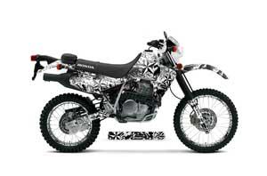 Honda XR650L Dirt Bike Graphic Kit - 1993-2018 Northstar White