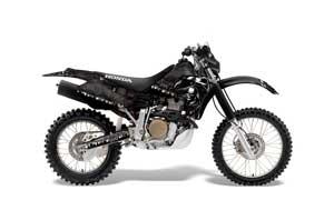 Honda XR650R Dirt Bike Graphic Kit - 2000-2010 Reaper Black
