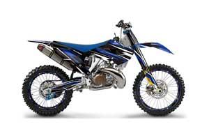 Husaberg TC / FC 300 Dirt Bike Graphic Kit - 2013-2014 Attack Blue