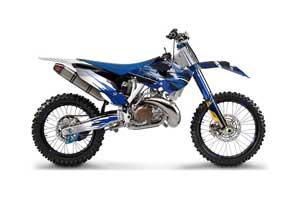 Husaberg TC / FC 250 Dirt Bike Graphic Kit - 2013-2014 Carbon X Blue