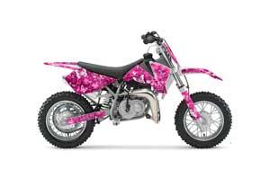 Yamaha WR400 Dirt Bike Graphic Kit - 1998-2002 T Bomber Blue Butterfly