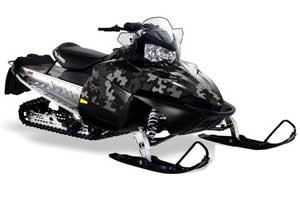 Polaris RMK / Shift / Assault Sled Graphic Kit - 2006-2020 Camoplate Black