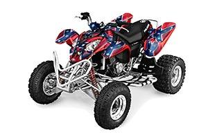 Polaris Predator 500 ATV Graphic Kit - 2002-2011 Rebel