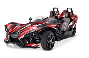 Polaris Slingshot SL Graphic Kit - All Years Attack Red