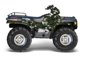 Polaris Sportsman 400 / 500 / 600 / 700 ATV Graphic Kit - 1995-2004 Camoplate Green