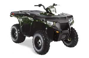 Polaris Sportsman 800 / 500 ATV Graphic Kit - 2005-2010 Camoplate Army Green