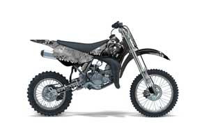 Suzuki RM 85 Dirt Bike Graphic Kit - 2002-2015 Reaper Silver