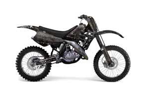 Suzuki RM 250 Dirt Bike Graphic Kit - 1989-1992 Reaper Black