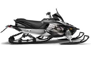 Yamaha Apex Sled Graphic Kit - 2011-2018 Carbon X Black