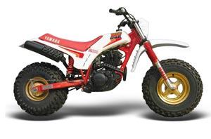 Yamaha BW200 OEM Dirt Bike Graphic Kit - 1986 Big Wheel Red