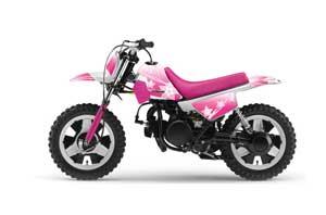 Yamaha PW50 Dirt Bike Graphic Kit - 1990-2018 Starlett Pink