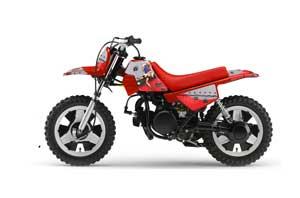 Yamaha PW50 Dirt Bike Graphic Kit - 1990-2018 T Bomber Red