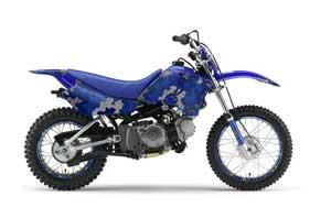 Yamaha TTR90 Dirt Bike Graphic Kit - 2000-2007 Camoplate Blue