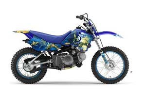 Yamaha TTR90 Dirt Bike Graphic Kit - 2000-2007 Live After Death