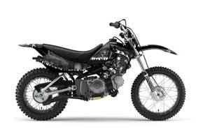Yamaha TTR50 Dirt Bike Graphic Kit - 2006-2018 Reaper Black