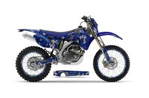 Yamaha WR250F Dirt Bike Graphic Kit - 2007-2014 Camoplate Blue
