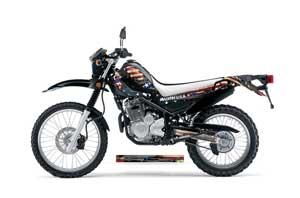 Yamaha XT250X Dirt Bike Graphic Kit - 2006-2018 WW2