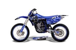 Yamaha YZ426 F 4 Stroke Dirt Bike Graphic Kit - 1998-2002 Reaper Blue