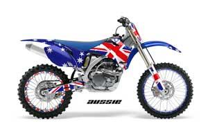 Yamaha PW50 Dirt Bike Graphic Kit - 1990-2018 Reaper Blue Aussie