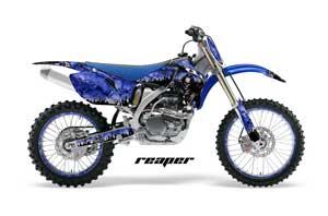 Yamaha YZ250F / YZ450F Dirt Bike Graphic Kit - 2006-2009 Reaper Blue