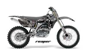 Yamaha YZ250F / YZ450F Dirt Bike Graphic Kit - 2006-2009 Reaper Silver