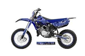 Yamaha YZ85 Dirt Bike Graphic Kit - 2015-2018 Reaper Blue