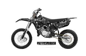 Yamaha YZ85 Dirt Bike Graphic Kit - 2015-2018 Reaper Black