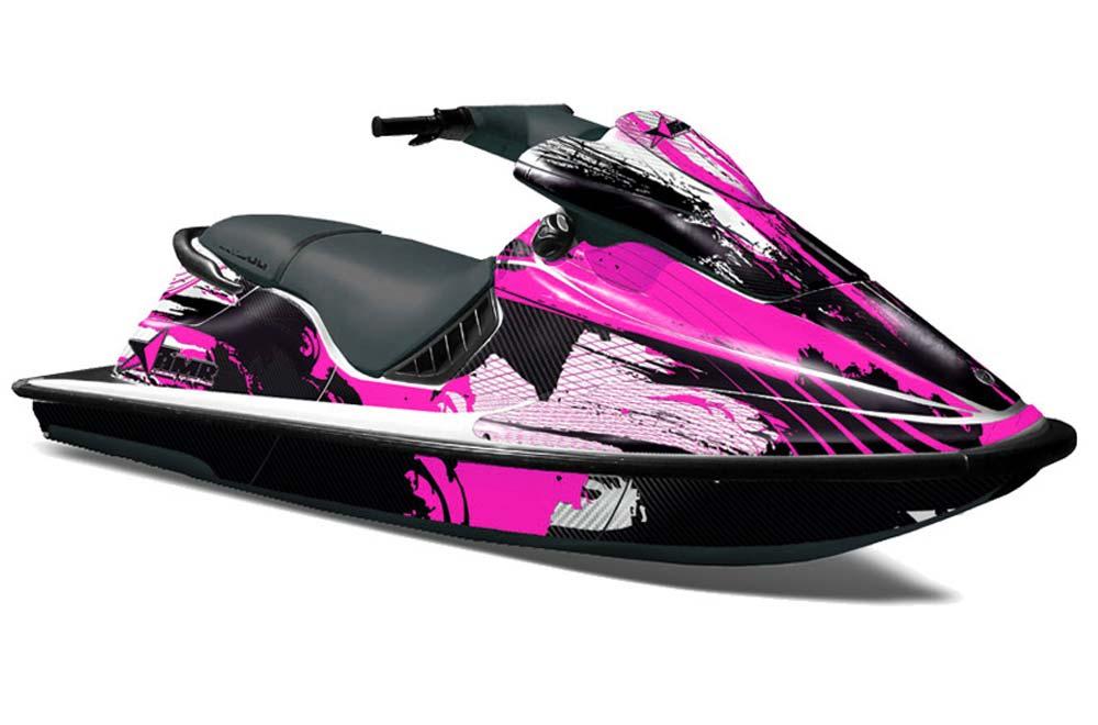 1996 Seadoo Xp >> Sea Doo XP Bombardier Graphics: Carbon X - Pink Jet Ski PWC Graphic Decal Wrap Kit   Jet Ski ...