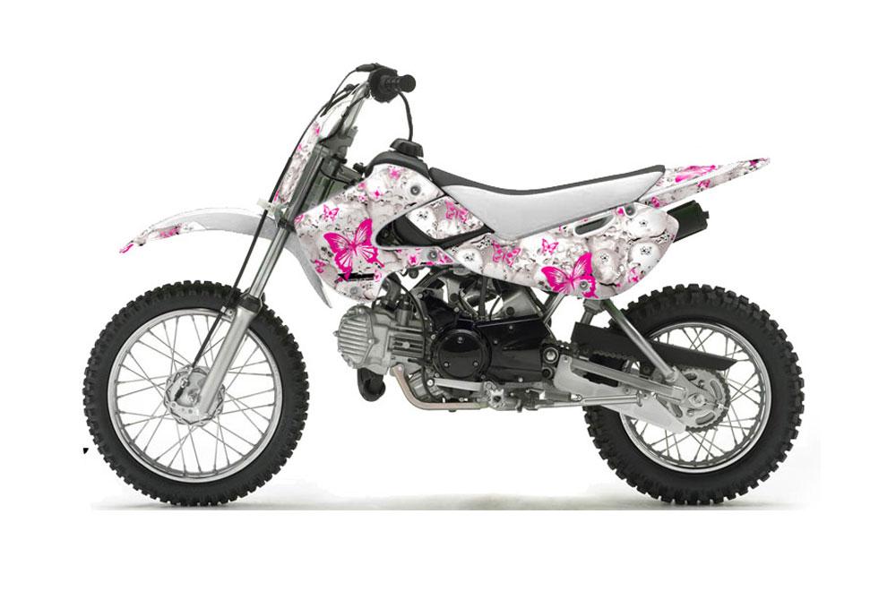 suzuki drz 110 dirt bike graphics  butterflies