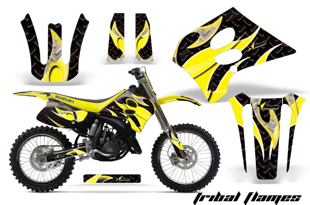 Suzuki RM 125 Dirt Bike Graphics (1993-1995)