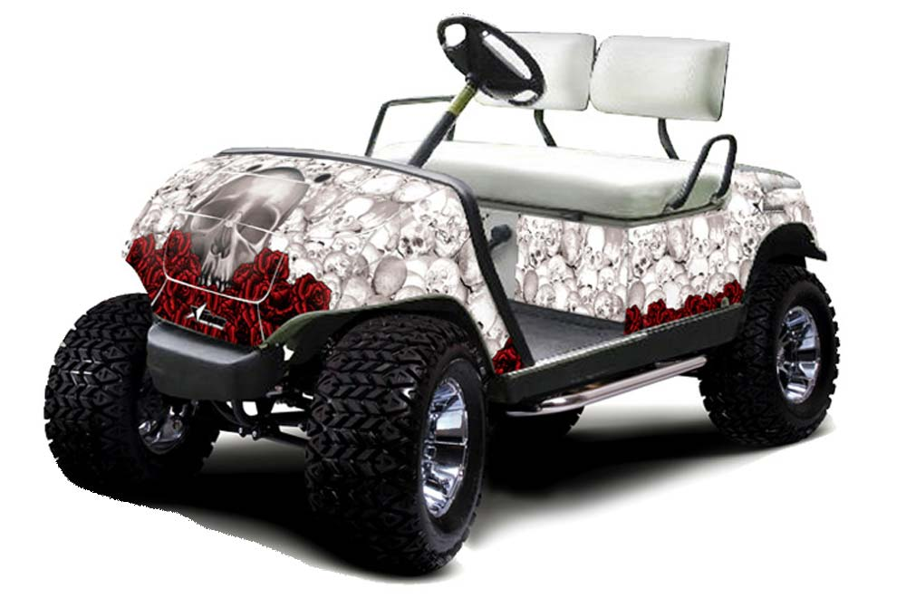 Yamaha Golf Cart Graphics: Bone Collector - White Golf Cart Graphic on semi golf cart, ford golf cart, world's tallest golf cart, dodge golf cart, antique looking golf cart, honda golf cart, disney golf cart, viper golf cart, 14 passenger golf cart, fire department golf cart, 4x4 golf cart, black golf cart, 2002 club cart, world's fastest golf cart, solorider golf cart, 6 passenger golf cart, most expensive golf cart, ups golf cart, used gem golf cart, best gas powered golf cart,