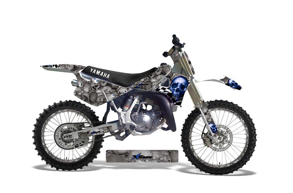 Yamaha yz250 2 stroke dirt bike graphics contender for Yamaha yz250 2 stroke