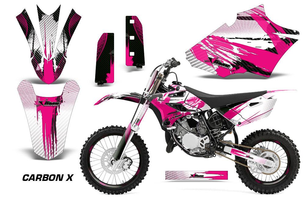 Yamaha YZ Dirt Bike Graphics Carbon X Pink MX Graphic Decal - Decal graphics for dirt bikes