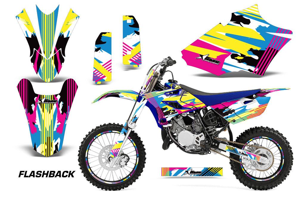 Decal Kits Product : Yamaha yz dirt bike graphics flashback mx graphic
